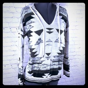 Cozy Knit hoodie sweater American eagle warm XS